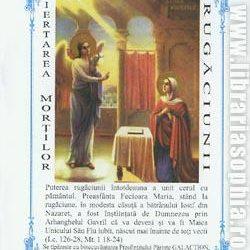 Puterea rugăciunii. Iertarea morților