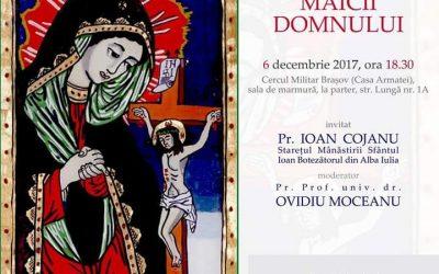 Conferinta Crucea Maicii Domnului